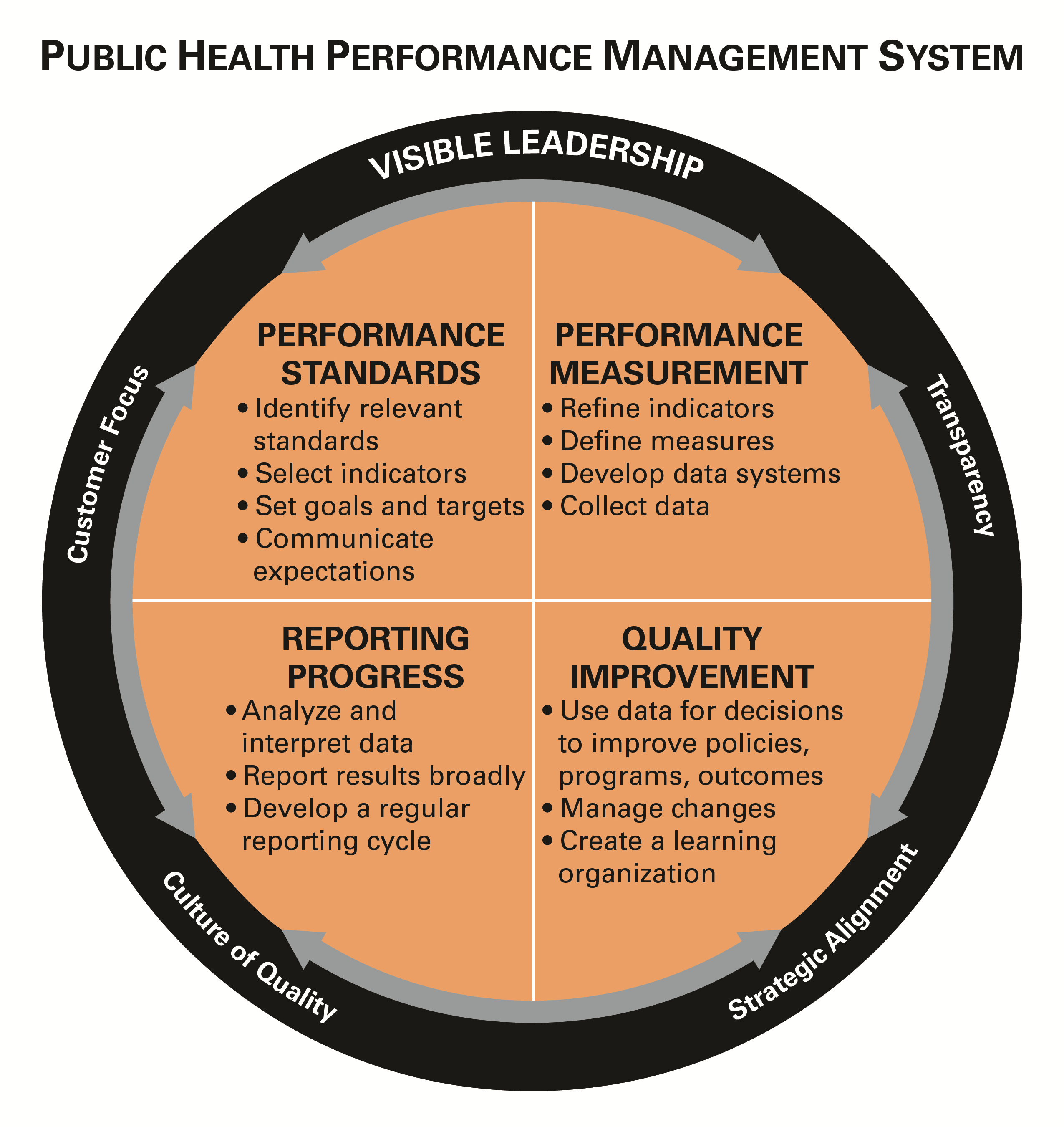 Public Health Foundation  Performance Improvement Plan Definition